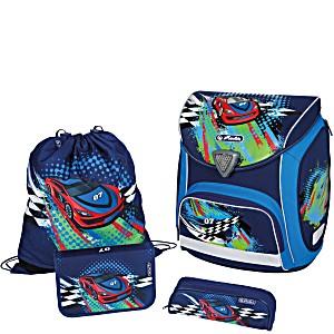 Школьный ранец Herlitz Sporti Plus Splash с наполнением 4 предмета