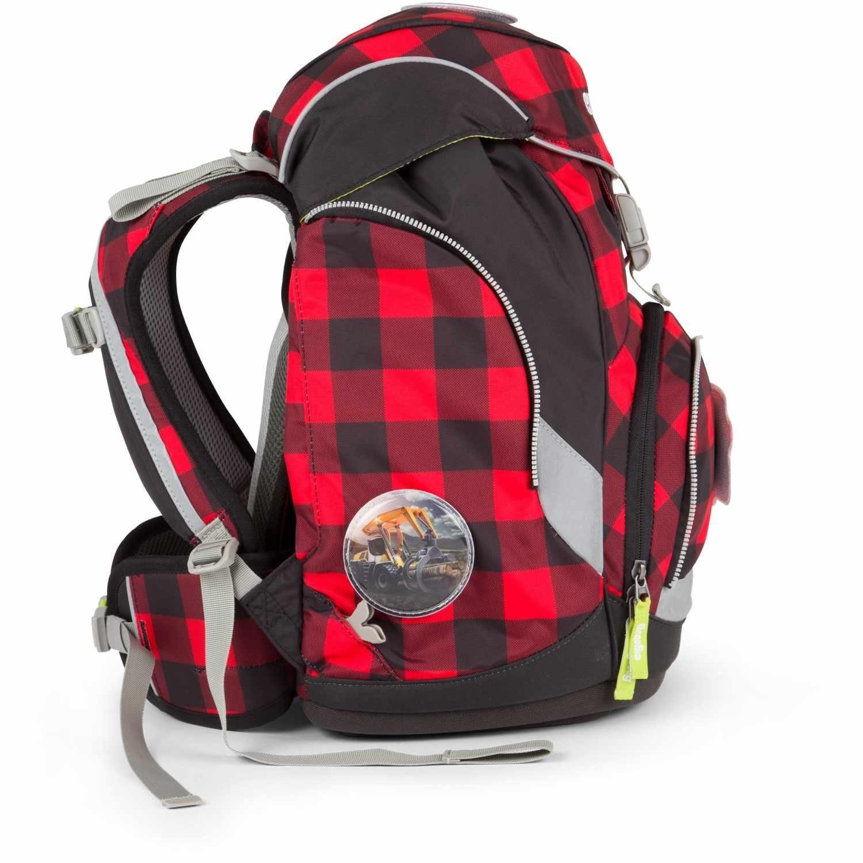 Рюкзак Ergobag LumBearjack с наполнением + светоотражатели в подарок, - фото 4