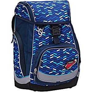 Ранец-рюкзак Belmil Comfy Pack 405-11/687 цвет Blue Mix + дождевик