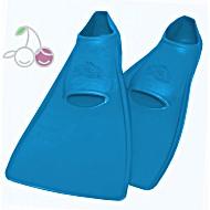 Ласты для бассейна резиновые детские размеры 27-28 синие ПРОПЕРКЭРРИ (ProperCarry)