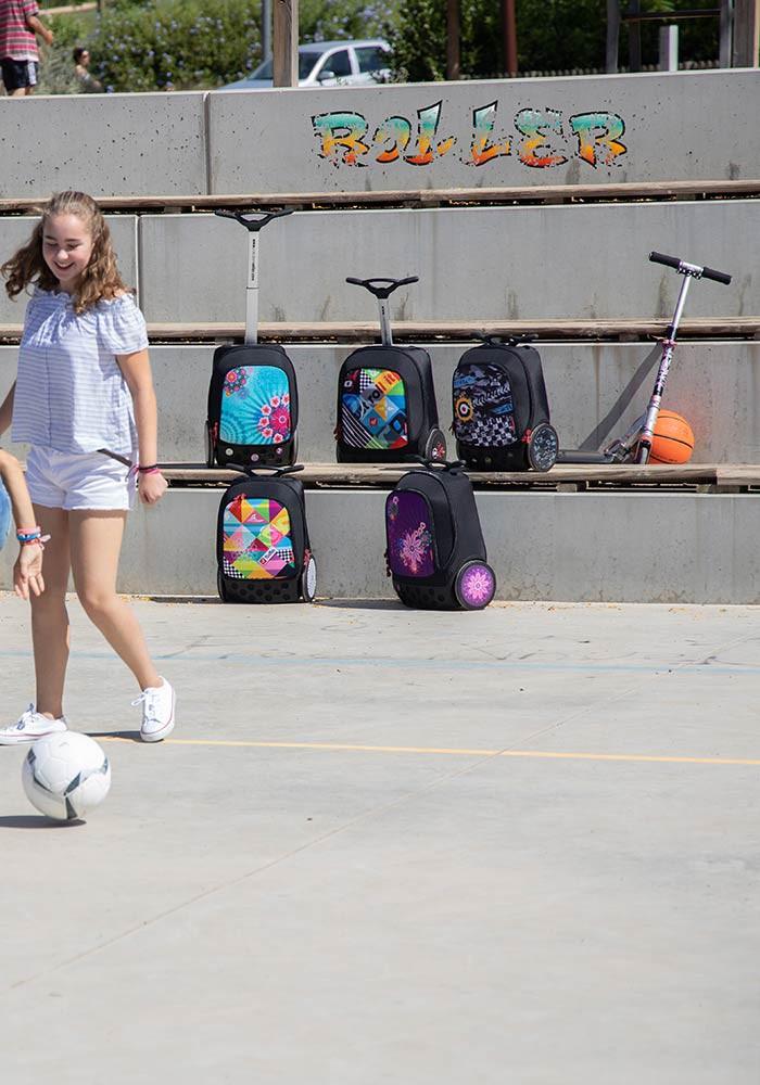 Рюкзак на колесах Nikidom XL Supergirl Испания арт. 9325 (27 литров), - фото 11